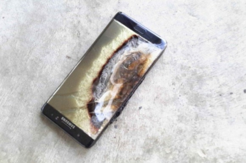 Полученные аппараты Samsung Galaxy Note 7 будут вывезены